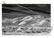 Valley Of Fire Black White Nevada  Carry-all Pouch