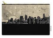 Vancouver Skyline Map Carry-all Pouch