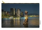 Vancouver Sunset Carry-all Pouch by Juan Contreras