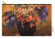 Vase Of Flowers 1896 Carry-all Pouch