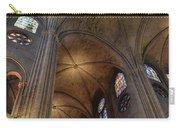 Vaults Of Notre Dame De Paris Before The Fire Of 2019 Carry-all Pouch