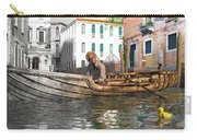 Venice Pause In The Evening Carry-all Pouch