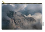 Very Cloudy Morning In Dolomites Carry-all Pouch by Jaroslaw Blaminsky