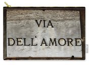 Via Dell'amore Carry-all Pouch