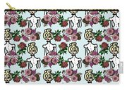 Victorian Girl Blue Carry-all Pouch