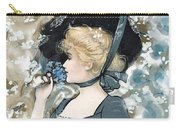 Victorian Lady Carry-all Pouch