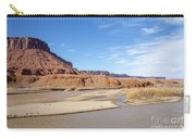 View At Sorrel River Ranch On The Colorado River Near Moab, Utah Carry-all Pouch