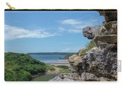 View From Pennard Castle Square Carry-all Pouch