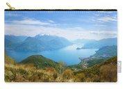 View From Rifugio Menaggio Lake Como Italy Carry-all Pouch