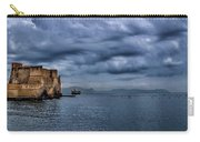 View Of Castel Dell Ovo  Carry-all Pouch