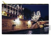 View Of Notre Dame From The Sienne River In Paris, France Carry-all Pouch