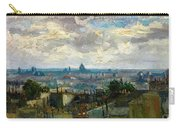View Of Paris - Digital Remastered Edition Carry-all Pouch