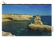 View Of Praia Deserta In Algarve Carry-all Pouch