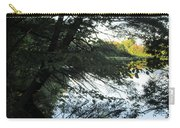 View Of The Lake Through The Branches Carry-all Pouch