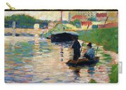 View Of The Seine - Digital Remastered Edition Carry-all Pouch