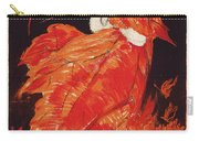 Vintage Art Deco Fashion Poster Carry-all Pouch
