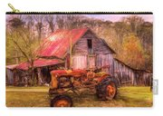 Vintage At The Farm Watercolors Painting Carry-all Pouch