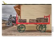 Vintage Baggage Cart Carry-all Pouch