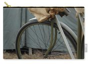 Vintage Bicycle World War II  Carry-all Pouch