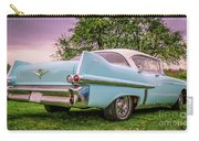 Vintage Blue Caddy American Vintage Car Carry-all Pouch
