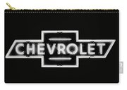 Vintage Chevrolet Neon Sign Carry-all Pouch