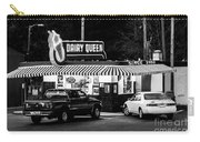 Vintage Dairy Queen At Night Carry-all Pouch