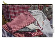 Vintage French Textiles Carry-all Pouch