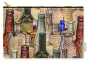 Vintage Glass Bottles Collage Carry-all Pouch