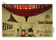 Vintage Hot Air Balloon Carry-all Pouch