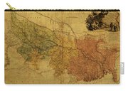 Vintage Map Of Bengal Carry-all Pouch