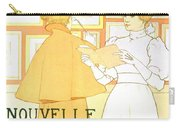 Vintage Poster Advertising A Exhibition At The Salon Des Cent, 1896  Carry-all Pouch