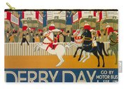 Vintage Poster - Derby Day Carry-all Pouch