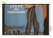 Vintage Poster - Make Every Minute Count Carry-all Pouch