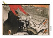 Vintage Poster - Motocycles Comiot Carry-all Pouch