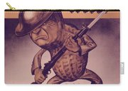 Vintage Poster - Mr. Peanut Goes To War Carry-all Pouch