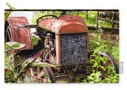 Vintage Rusted Tractor Carry-all Pouch