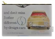 Vintage Studebaker Advertisement Carry-all Pouch
