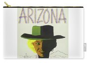 Vintage Travel Poster Arizona 3 Carry-all Pouch
