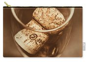 Vintage Vino Carry-all Pouch