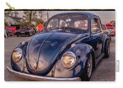 Vintage Vw Beetle At Sunset Carry-all Pouch