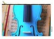 Violin Blues Carry-all Pouch