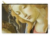 Virgin And Child Renaissance Catholic Art Carry-all Pouch