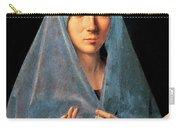 Virgin Of Annunciation Painting By Antonello Di Antonio Dit Antonello Da Messina Carry-all Pouch
