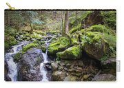 Vivid Green In The Black Forest Carry-all Pouch