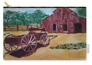 Wagons And Barns Carry-all Pouch