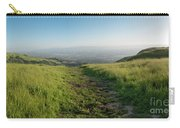 Walking Downhill Large Trail With Silicon Valley At The End Carry-all Pouch