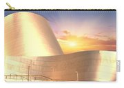 Wall Disney Concert Hall At Sunset Carry-all Pouch