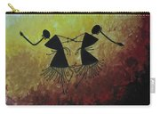 Warli Painting Carry-all Pouch