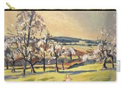 Warm Spring Light In The Fruit Orchard Carry-all Pouch