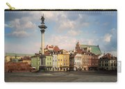 Warsaw On A Sunny Morning Carry-all Pouch by Jaroslaw Blaminsky